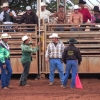 Bull session, Molokai Ranch Rodeo, photo by Mark Kailana Nelson