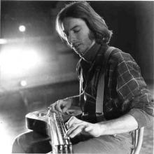 Mark Nelson playing the Swedish hummel, Salt Lake City 1975