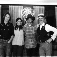 The Wasatch Rascals old time string band, Salt Lake City. Mid 70s