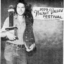Mark Nelson wins National Mountain Dulcimer Championships, Walnut Valley Festival, Winfied, Kansas 1979