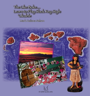 "cover image of ""Learn to Play Slack Key Style Ukulele"" CD"
