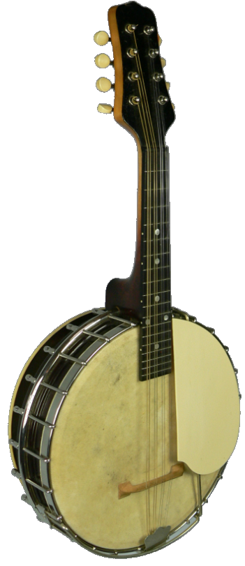 "photo of Mark Nelson's 1925 Gibson ""Trap Door"" mandolin banjo"