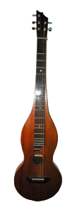 Custom five string Appalachian dulcimer by David Marks.