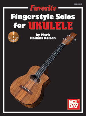 Favorite FingerStyle Solos For Ukulele cover