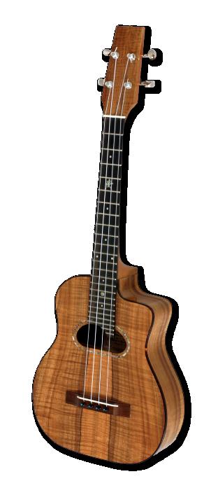 Photo of Island Jazz ukulele by Dennis Kale, Po Mahina Musical Instruments, Hawaii