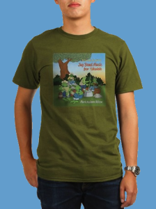 "Photo of ""Jug band For Ukulele"" T shirt."