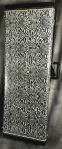 faux snakeskin case