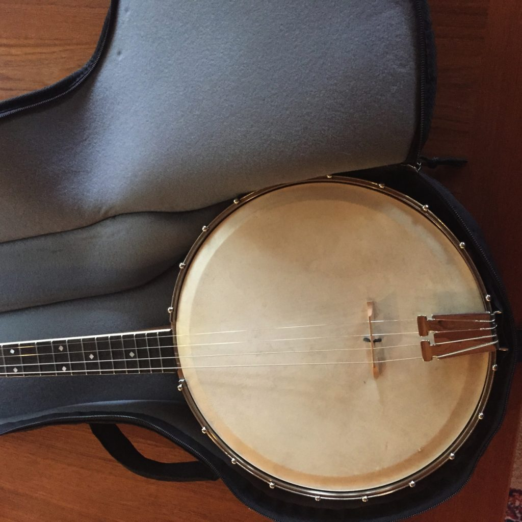 Closeup of Selu Tenor Banjo