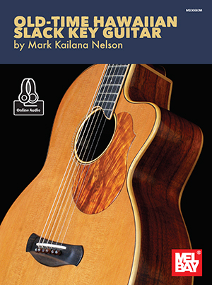 Cover imagae of Old Time Hawaiian Slack Key guitar book.
